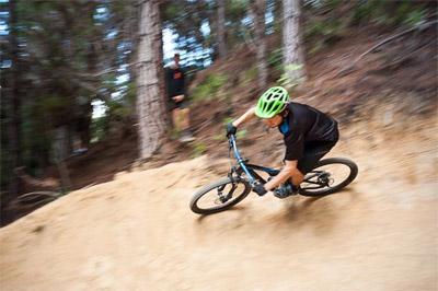 mountain biking at Kaiteriteri Mountain Bike Park
