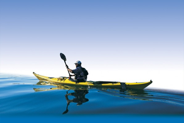 Al heading out in his kayak